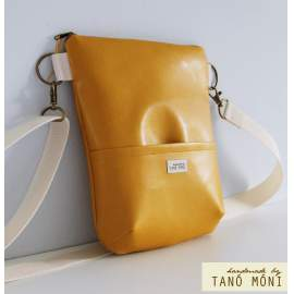 MIDDLE BAG táska mustársárga