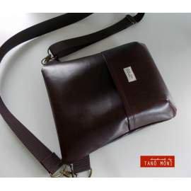 MIDDLE BAG táska csokibarna