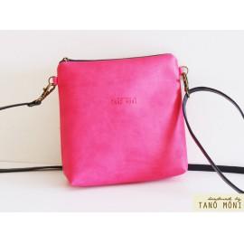 LITTLE BAG pink műbőrből (új)