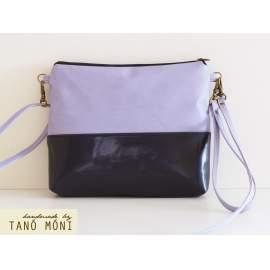 CLUTCH BAG táska sötétkék királykék lila
