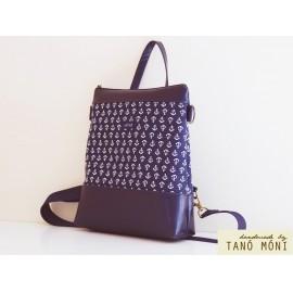 CONFORT BAG hátizsák és táska kék horgonyos (új)