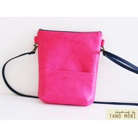 MIDDLE BAG táska pink (új)