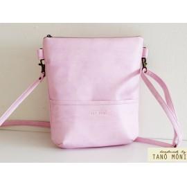 MIDDLE BAG táska rózsaszín (új)