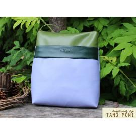 COLOR BAG hátizsák lila olajzöld zöld (új)