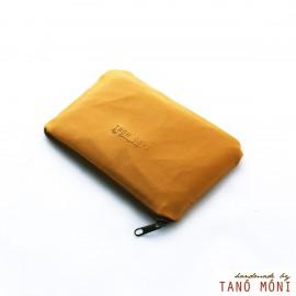 PÉNZTÁRCA mustársárga (új)